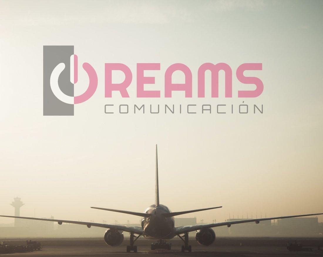 diseño de incio de dreams comunicación